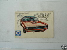 C05 CENTRA LUCIFERS,MATCHBOX LABELS OLDTIMER CAR FORD MUSTANG MACH 1