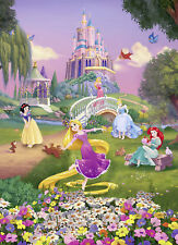 Disney - Foto-Tapete - Princess Sunset - Größe 184x254 cm - 4-teilig