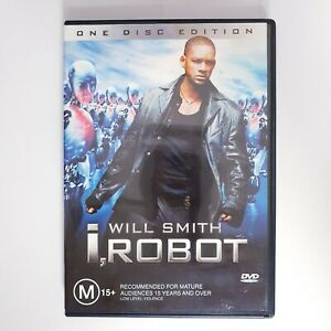 I Robot Movie DVD Region 4 PAL Free Postage - Action Scifi Will Smith