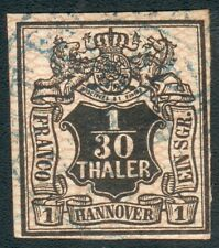 Hannover Mi.-Nr.10 o vollrandig (MICHEL EURO 40,00) feinst/pracht