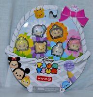 Disney Tsum Tsum EXCLUSIVE Glitter Pastel Figures 2 Pack set of 12 (58273)