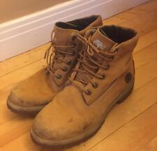 Timberlands Timberland Boots Roll Top 6420R 3940 Mens 9 US Shoes Work Boots USED