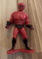 Vintage 1977 Tootsietoy Capt. Lazer Figure Plastic Toy Captain Sci Fi