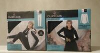 Cuddl Duds Women's Warm Base Layer Long Sleeve Crew Top And Bottom Set Size S