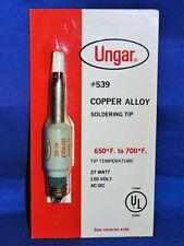 COPPER ALLOY SOLDERING TIP UNGAR #539