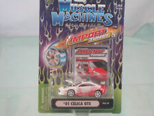 2001Celica GTS    1:64   BY MUSCLE MACHINES Import Tuner