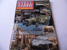 STEEL MASTERS ISSUE 57  - MILITARY HISTORY WARGAMING MAGAZINE