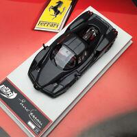 Limited BBR 1:43 Hi-End Car Model for Ferrari ENZO Carbon Fibre W/White Interior