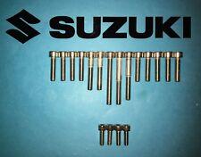 Suzuki ensayos RL250 250cc Acero Inoxidable Allen Tornillo Set Motor 73-82 * * UK Freepost