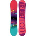 BURTON FEELGOOD SMALLS FLYING V ragazze bambini SNOWBOARD ROCKER 2018 NUOVO