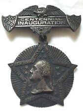 1889 Silvered  Copper Washington Centennial Medal And Pin / R-6 /Token / Coin