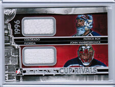 13/14 ITG LORD STANLEY'S MUG PATRICK ROY VANBIESBROUCK CUP RIVALS JERSEY 1996