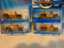 2005 Hot Wheels Meyers Manx Collector lot of 4 # 139 Gold Car Vintage HTF RARE