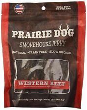 Prairie Dog Pet Products Western Beef Smokehouse Jerky Treats, 15 oz, New, Free
