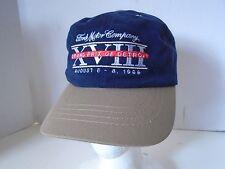 Ford Detroit Grand Prix XVIII 1999 Baseball Hat Cap Navy Tan We Race You Win Aug