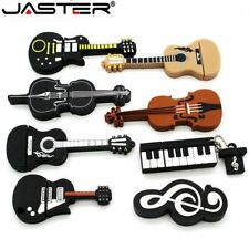USB Flash Drive Musical Instrument Violin Piano Guitar Piano Clef Musician Notes