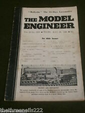 MODEL ENGINEER - 'MOLLYETTE' 14 DAYS LOCOMOTIVE - AUG 26 1943 VOL 89 #2207