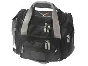 Corvette C7 Black 12 Can Cooler Bag