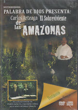 DVD - Carlos Arteaga El Sobreviviente De Las Amazonas NEW FAST SHIPPING !