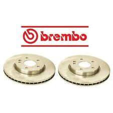 NEW Mercedes R170 W202 W210 Set Of 2 Front Disc Brake Rotors Brembo 2104210712