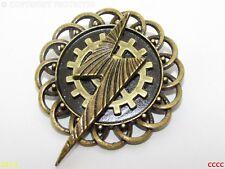 Steampunk Pin Insignia Broche Bronce Rayo Harry Potter Rueda Dentada COG