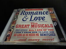 CD DOUBLE ALBUM ROMANCE AND LOVE - THE GREAT MUSICALS - READERS DIGEST