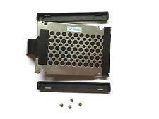 Festplatten Rahmen Caddy + 4 schrauben + 2 Gummischienen für IBM / Lenovo T61