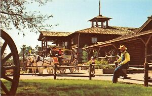 Walt Disney World postcard Pioneer Hall at Ft. Wilderness 0111-0120