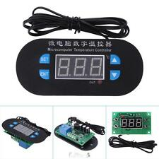 DC 12V 10A LED Digital Temperature Controller Alarm Waterproof Sensor W3230