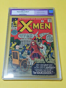 X-MEN #2 CGC 7.0 (R) 1963 Marvel Comics OFF-WHITE Pages Vanisher 1st appearance