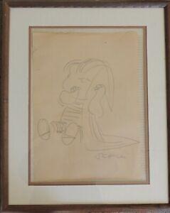 Charles M. Schulz (American, 1922-2000). Linus Sketch Original