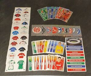 Topps Fussball Bundesliga 2009/2010 Job Lot Bundle 85 Football Stickers