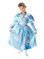 Child Disney Princess Winter Wonderland Cinderella Fancy Dress Costume BN
