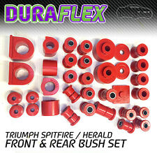 Triumph Spitfire/ Herald Front and Rear Bush set -  PRO
