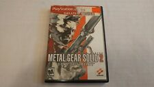 Metal Gear Solid 2 - Sons of Liberty for PS2 - Complete