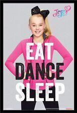 JoJo Siwa 12x8 inch photograph print - Bow  - Dance - Colourful - Mini Poster -