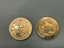 Monnaie De Paris Disneyland Paris 2021 Mickey Mouse Euro Disney Medaille Token