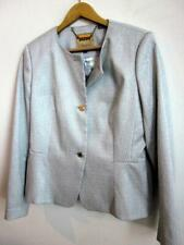 Ted Baker 'Eiraa'  Peplum Texture Suit Jacket Ted Size 4 US 10 Silvery Blue