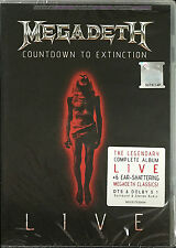 MEGADETH Countdown to Extinction Live 2013 MALAYSIA EDITION DVD NEW SEALED
