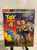 TOY STORY 4 - 4K+Blu-Ray+Digital & StoryBook Target Exclusive  BRAND NEW