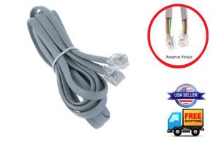 REVERSE 6-PIN CABLE REMOTE WIRE CONTROL LEGGETT & PLATT ADJUSTABLE BED SILVER
