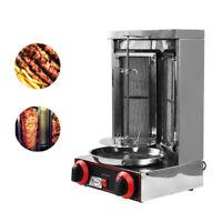 220V Food Machine Grill Shawarma Kebab Machine Vertical Rotating Rotisserie Oven