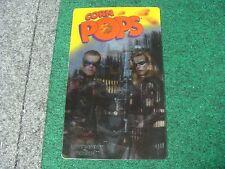 Batman and Robin 3D Lenticular Movie Advertisement - Corn Pops (1997) Kelloggs