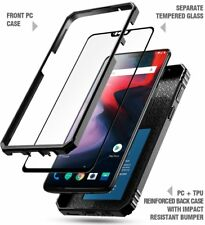 Case For OnePlus 6 Poetic【Revolution Series】Heavy Duty Rugged Case Black