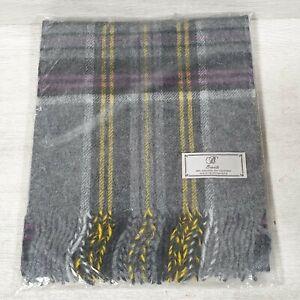 Bronte By Moon Ladies 100% Lambswool Wool Scarf NEW