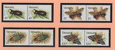 VANUATU 8 timbres neufs 1987 faune insectes /T363