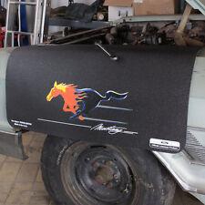 Ford Mustang Flame Horse Fender Gripper Cover Garde-boue de veille anti-dérapant de coffre