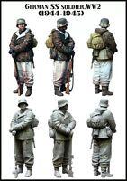 1/35 RESIN MODEL KIT FIGURE WW2 GERMAN SS SOLDIER (1 TOP QUALITY MOLDED FIGURE)
