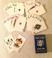 Vintage Lombardy Arrco Playing Cards Deck Linen Finish Made in the USA