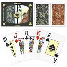COPAG 100% plastic Script playing cards - Double Deck - bridge/jumbo